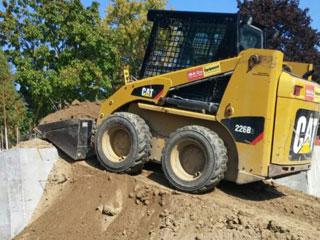 Excavation Contractors Markham - Rental Skid Loader