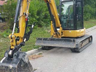 Excavation Company Markham - Rental Crawler Excavator