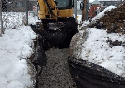 Excavation Services Drain French Style Richmond Hill